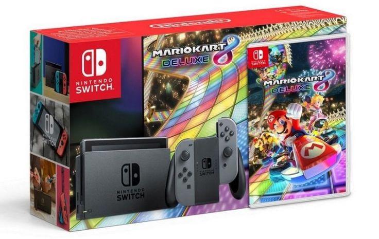 Nintendo's 'Mario Kart 8 Deluxe' Switch Bundle Incoming