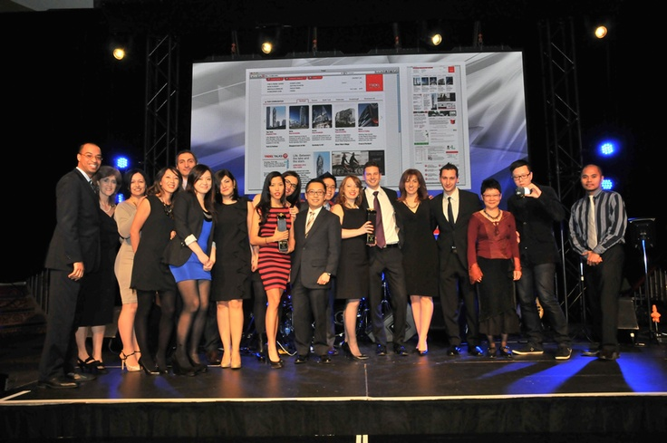 We won a BILD award for Best Website (High-Rise) with Tridel :)
