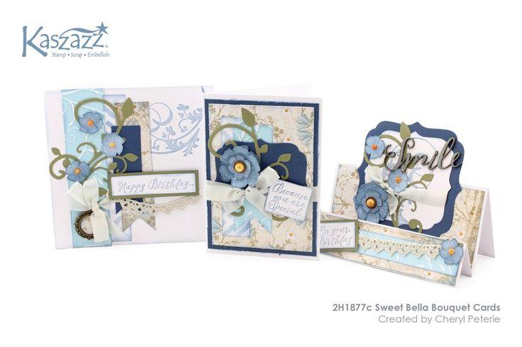 2H1877c Sweet Bella Bouquet Cards