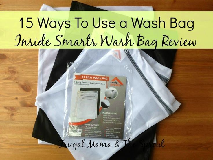 15 ways to use a wash bag! Plus an Inside Smarts Wash Bag ...