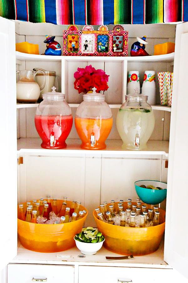 Colorful first fiesta celebration // Kelin Dotts via Hostess with the Mostess