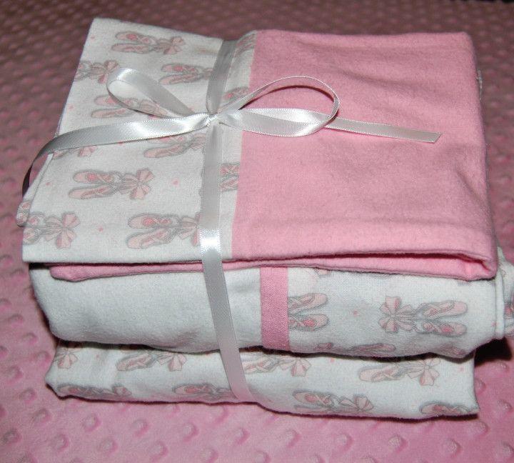 Ballet Crib Sheet Set- Nursery Toddler Bed Sheet Set