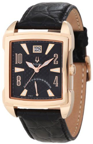 Men's Wrist Watches - Bulova Mens 97B117 Adventurer 24 Hour Hand and Large Date Calendar Display Watch ** You can find more details by visiting the image link.