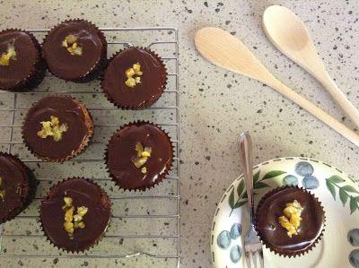 How To: Chocolate Orange Cupcakes // Sweet As Mae