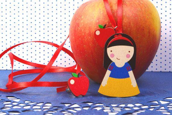 Mintapinta POP Snow White wooden pendant, $15 https://www.etsy.com/listing/209821064/mintapalinta-pop-kids-jewelry-unique