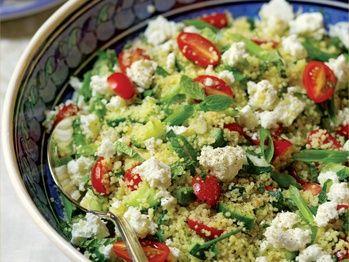 Mediterranean Couscous Salad from Cookstr. punchfork.com/...