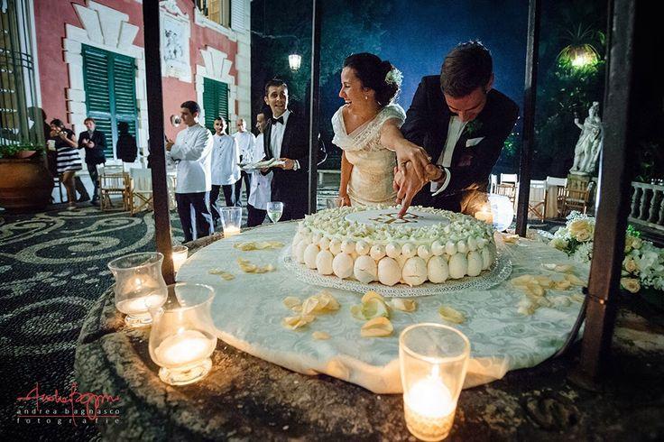Andrea Bagnasco Fotografie | Fiori di Tulle Wedding Photography Blog #wedding #photoghraphy #fotografo #matrimonio #santamargherita #villadurazzo #villa #durazzo #cake