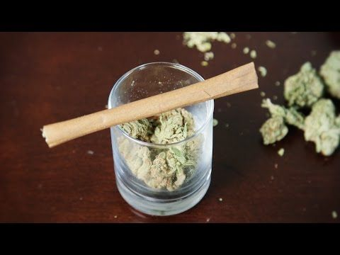 How to roll a blunt in less than one min.