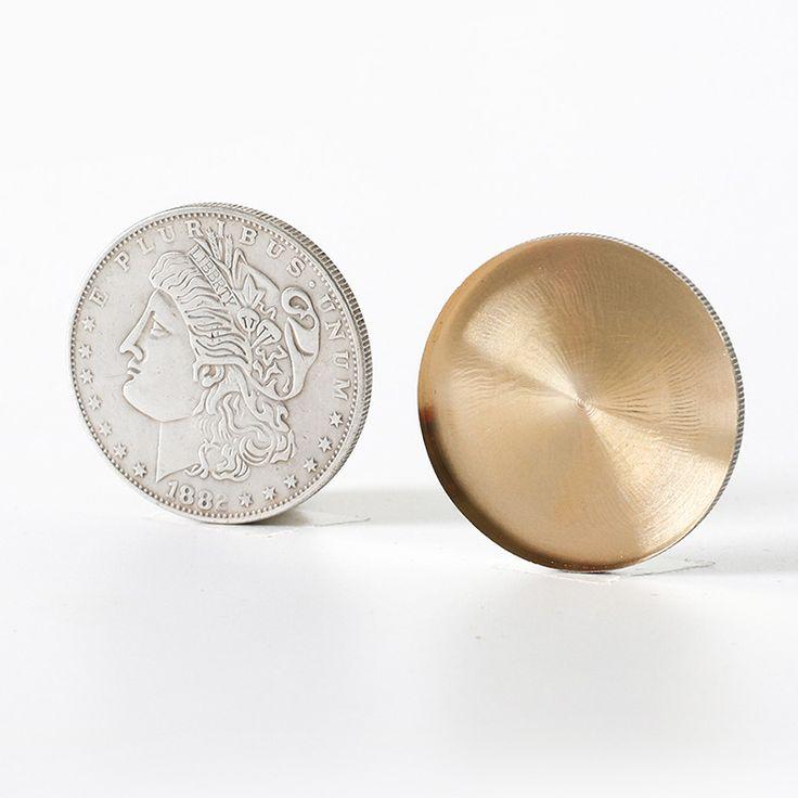 1 pcs High Quality Expanded Shell Super Morgan Dollar coin magic tricks accessory magic gimmick props 81340