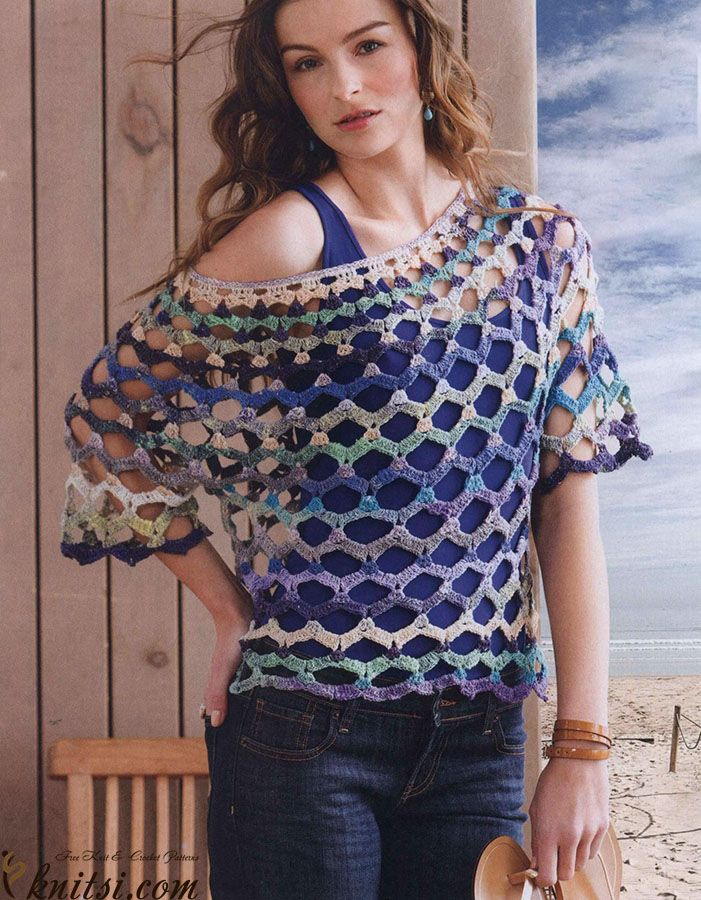 Openwork top crochet pattern free