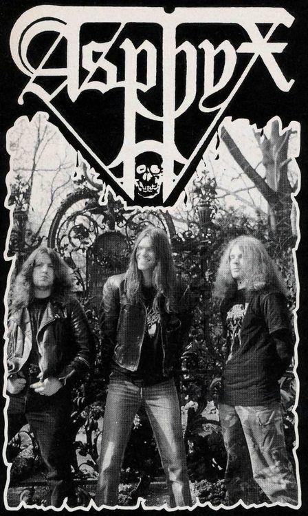 Asphyx.  Death/Doom Metal from the Netherlands