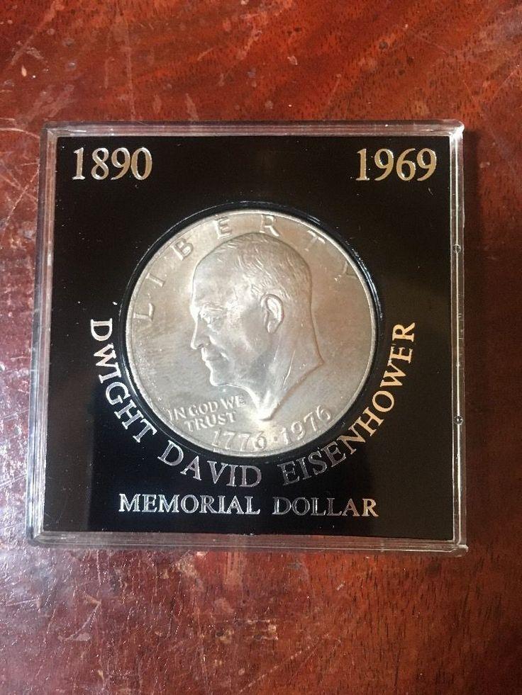 1776-1976 Dwight Eisenhower Memorial Dollar