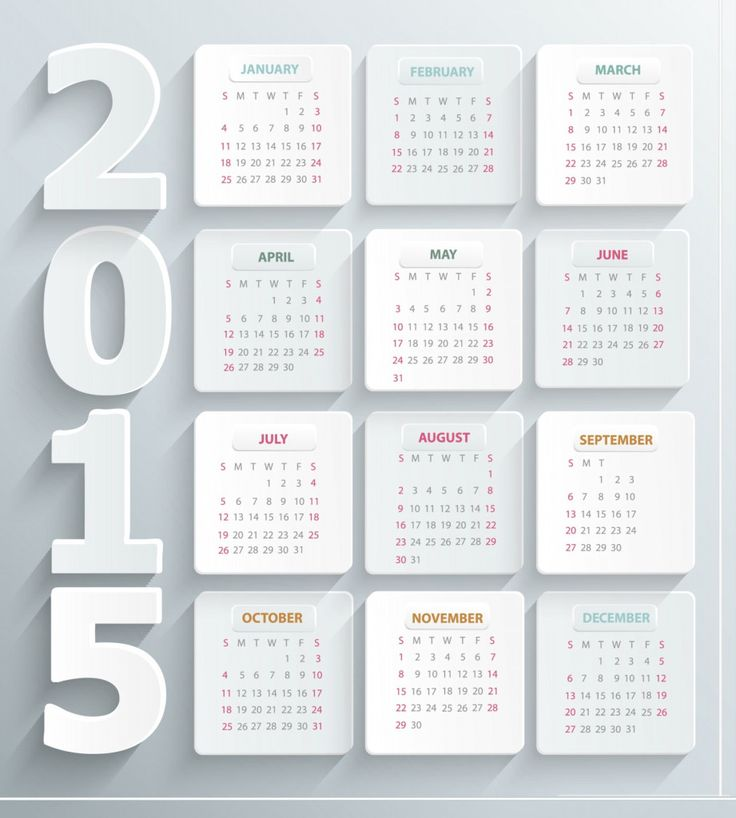 8 Best New Year Calendars Images On Pinterest Calendar Design