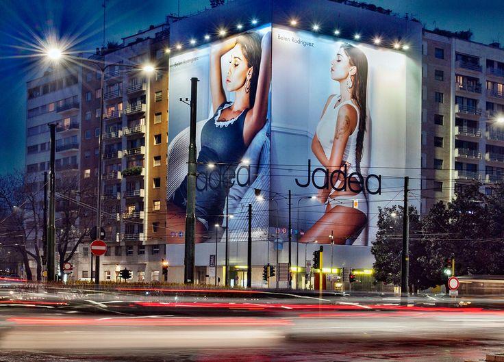 Brand: Jadea Milano - Piazza della Repubblica #jadea #intimofemminile #abbigliamento #belenrodriguez #moda #milano #italia #adv #advertising #media www.upgrademedia.it in collaborazione con Uno outdoor srl