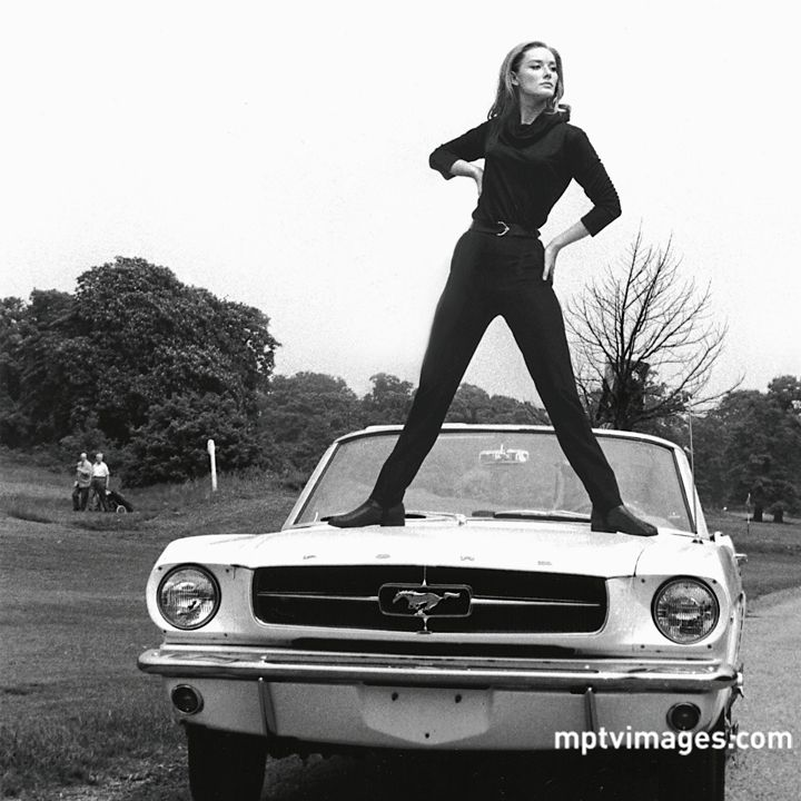 Tania Mallet As Tilly Masterson In Goldfinger 1964 Vintage