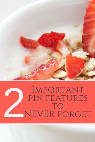 """Let's play a game of """"good pin / bad pin"""" I've been known to tell my clients what a """"good pin"""" should look like, but I realize that's often hard to grasp when you are just reading a d…"""