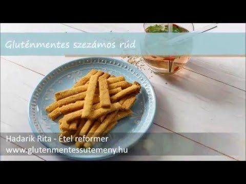 Gluténmentes szezámos rúd - www.glutenmentessutemeny.hu