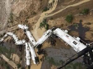 Un train acheminant 200.000 litres d'acide sulfurique déraille !!! • Hellocoton.fr
