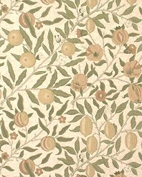 Fruit Lime/Green/Tan från William Morris & Co