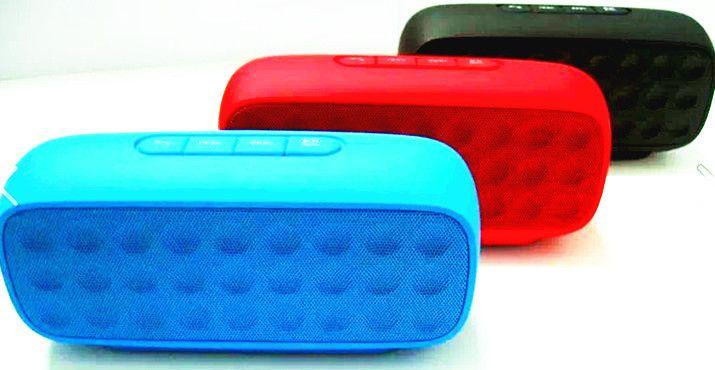 Портативные Динамики Bluetooth Стерео Беспроводные Колонки Хороший Бас Двойной Драйвер Полный спектр Звука HIFI 2000 мАч