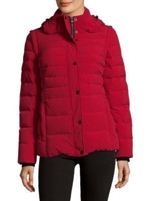 ANDREW MARC Down Puffer Jacket. #andrewmarc #cloth #jacket