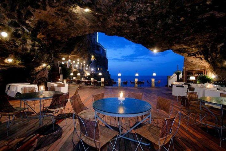 Grotta Palazzese, Polignano a Mare (BA), Puglia, Italia