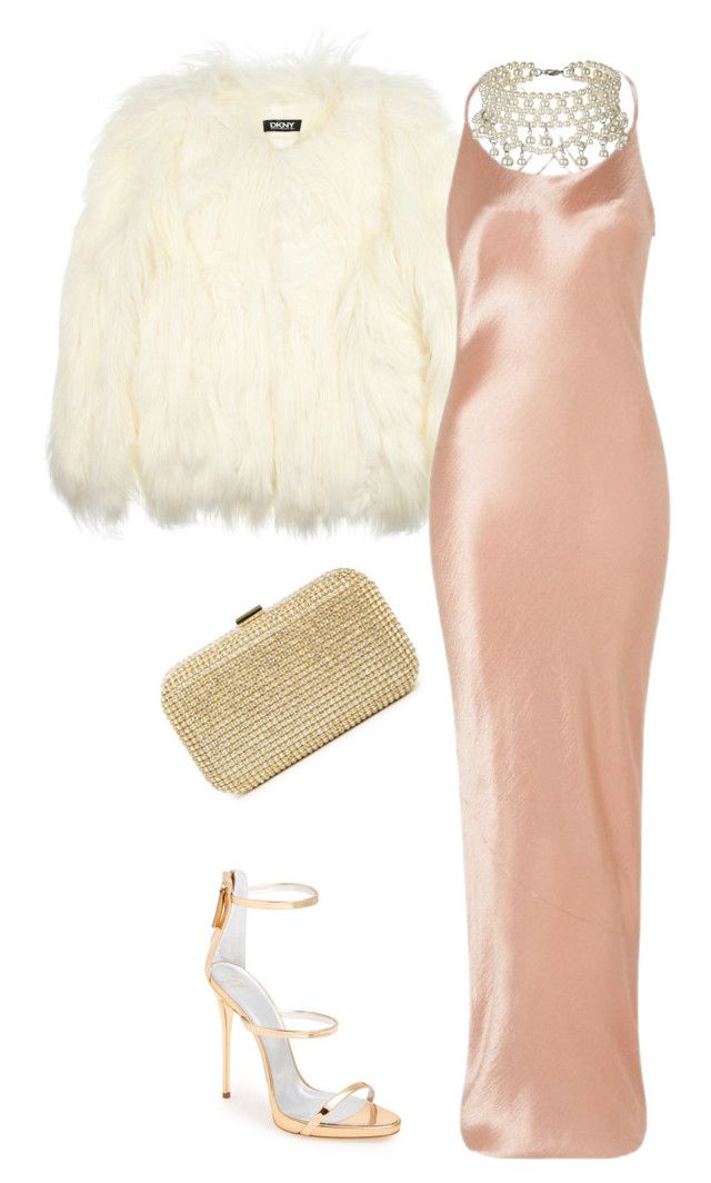 """""""Untitled #13583"""" by danisalalkamis ❤ liked on Polyvore featuring DKNY and Giuseppe Zanotti"""