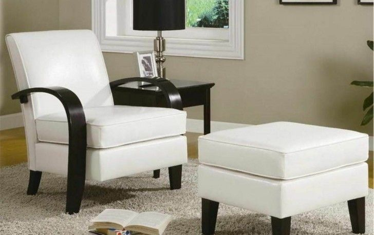 Elegant Living Room Accent Chair With Footstool Also Cosy Shag Rug And Black Table Lamp Shade Idea Adorable Room Idea for Any Living Room Using Well-Designed Cadence Chairs Living Room