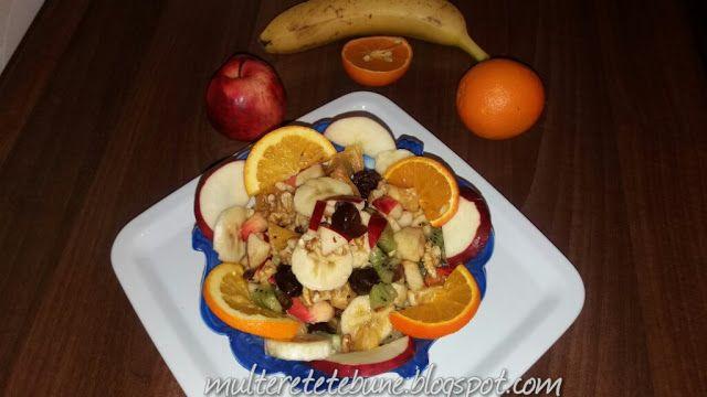 RETETE: Salata de fructe