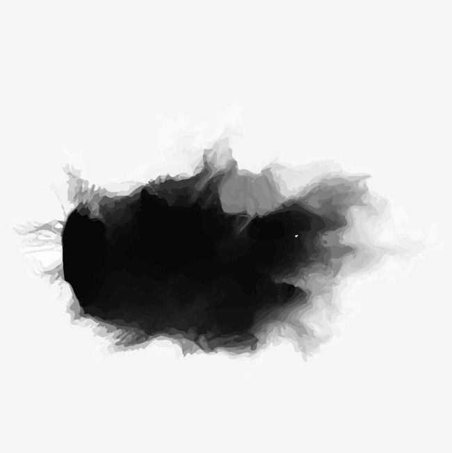 Black Watercolor Brush Strokes Brush Effect Brush Strokes