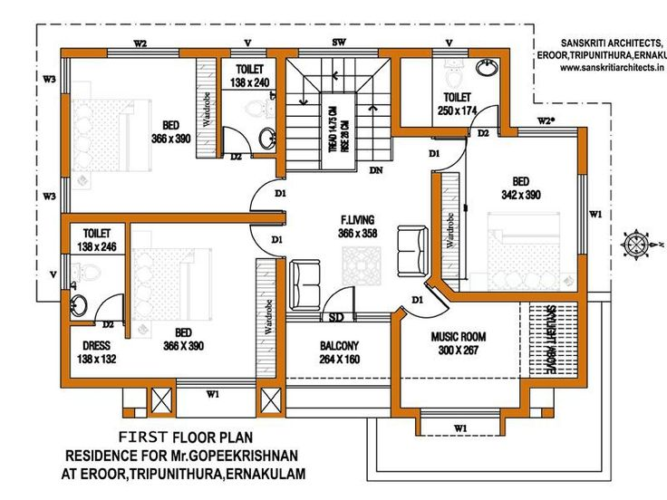 Kerala house plans estimate sq ft home design floor plans for House plans with cost estimates