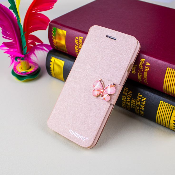 Flip Case For iPhone 5s PU Leather Wallet Case Good-looking Pink Red Cases For Women On iPhone 5s/s/6s/7/7 plus