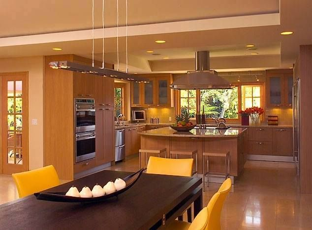 Awesome traditional type open kitchen that can surprise for Kerala traditional kitchen designs