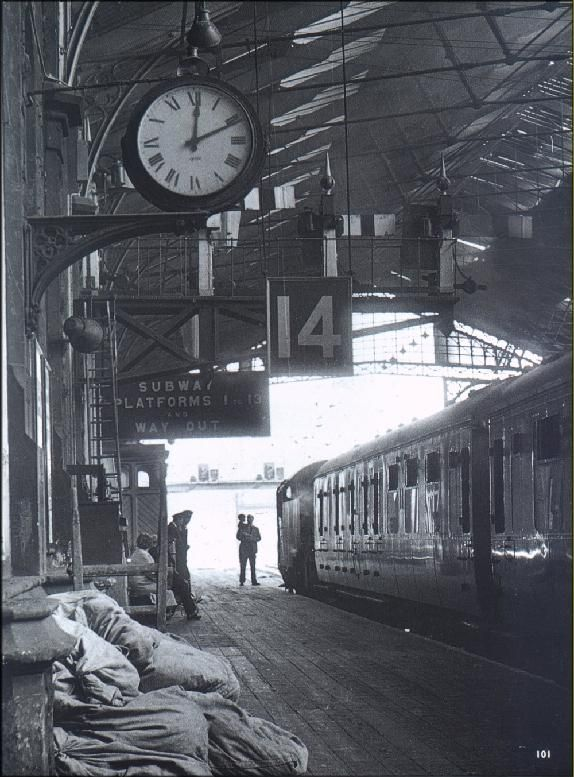 When it opened in 1840, Brunel's train shed at his Temple Meads terminus set a pattern for city stations. In 1964, a year before it dosed. mailbags await attention and a child is shown the pleasures of steam.
