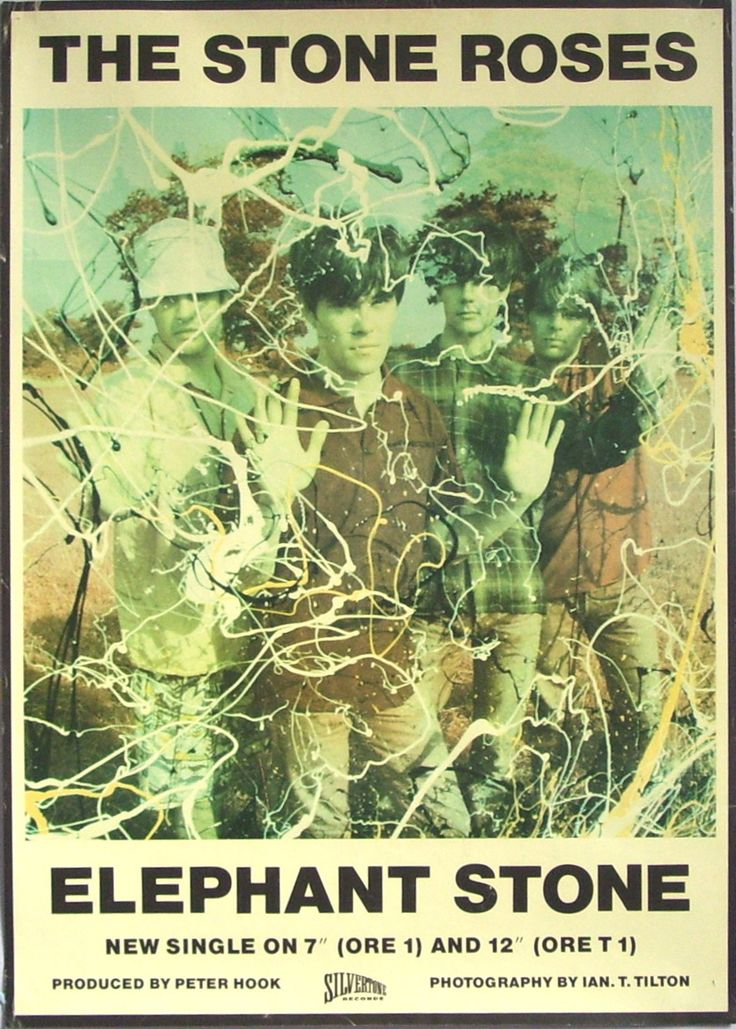 The Stone Roses 'Made of Stone' Poster