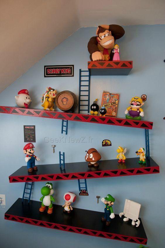 Game room ideas #gaming #mario