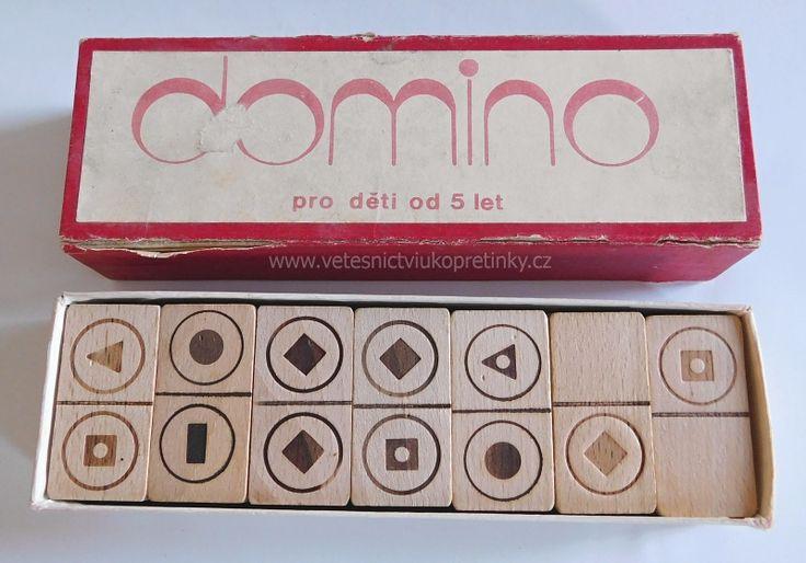 Stolní #hra #Domino, dřevěné