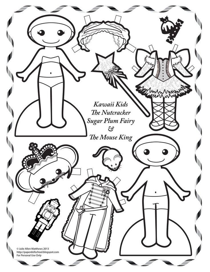 Kawaii Kids - The Nutcracker 2 by juliematthews on DeviantArt
