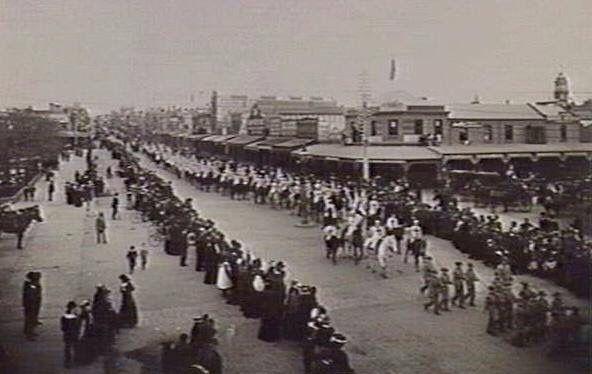 Moorabool St circa 1915