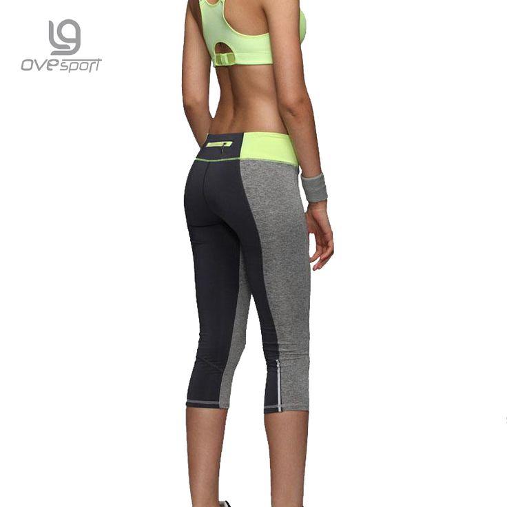 Women Zipper Pocket Leggings Fitness Capri Pants Reflective Leggins Slim Women's //Price: $17.98 & FREE Shipping //     #legginsonline