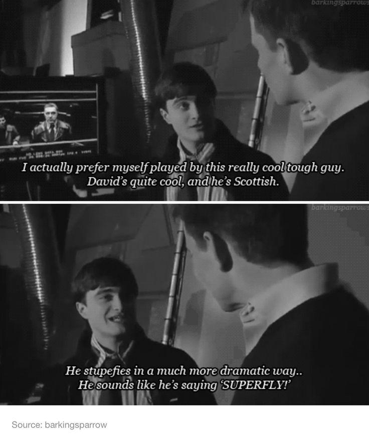Daniel Radcliffe about David Yates - Harry Potter