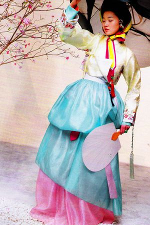 Hanbok, Vogue Korea