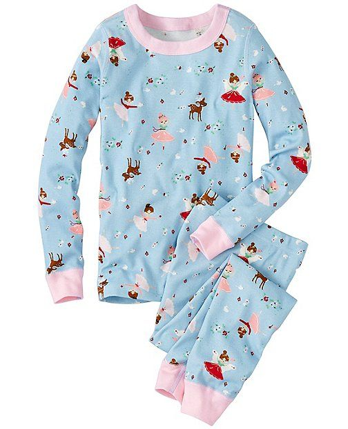 Kids Long John Pajamas In Organic Cotton from #HannaAndersson.