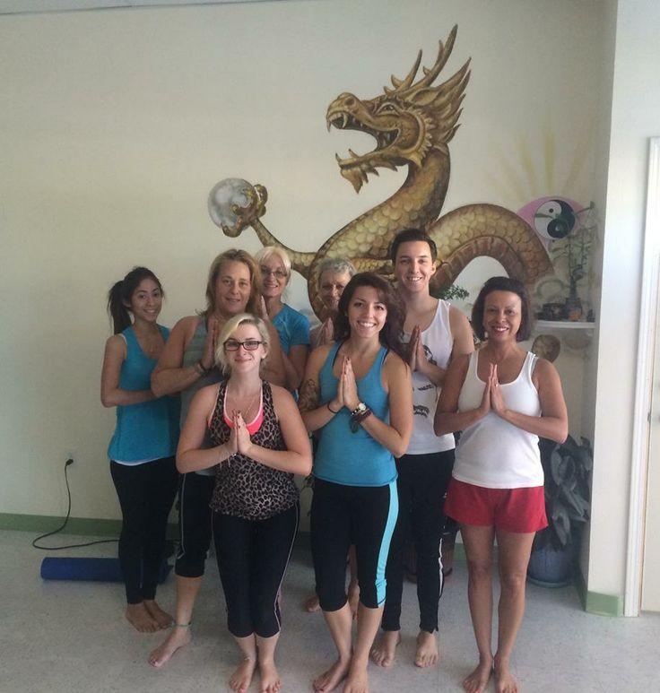 Yoga with Stephanie on Saturdays!