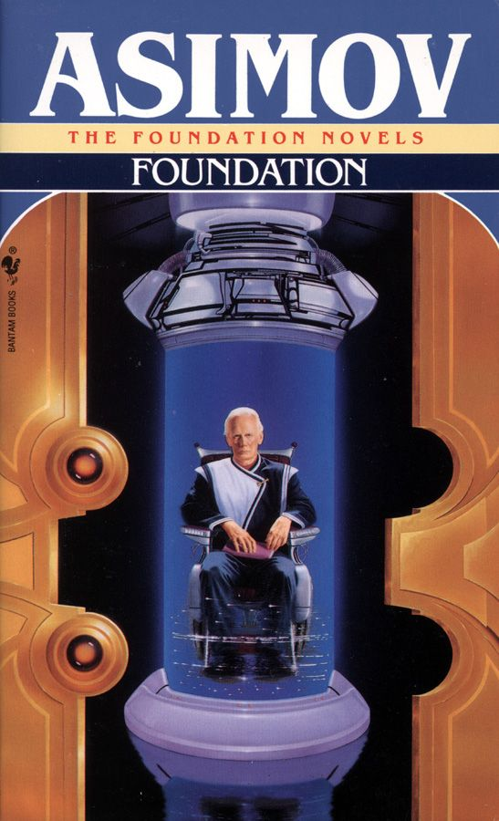 Isaac Asimov's Foundation Series - What if the Galactic empire were to fall?  Could a psycho-historian map out a thousand year plan to rebuild it?