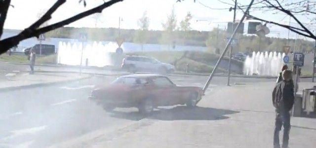Chevrolet Camaro Burnout Fail