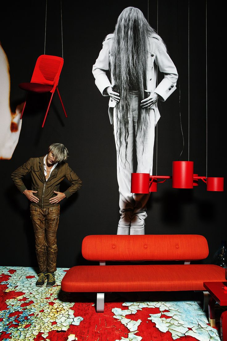 marcel wanders - shooting for ad china - photos by claudio tajoli