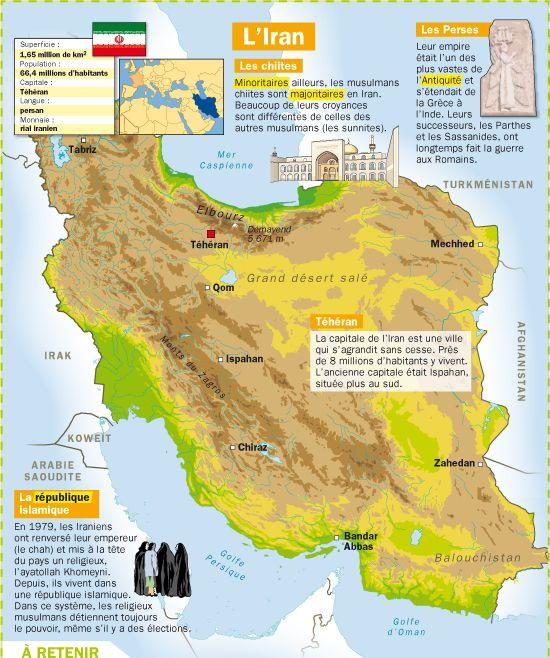 Fiche exposés : L'Iran                                                                                                                                                                                 Plus