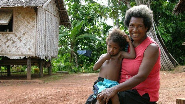 In the midst of preparation for Papua New Guinea - Dumitriu family
