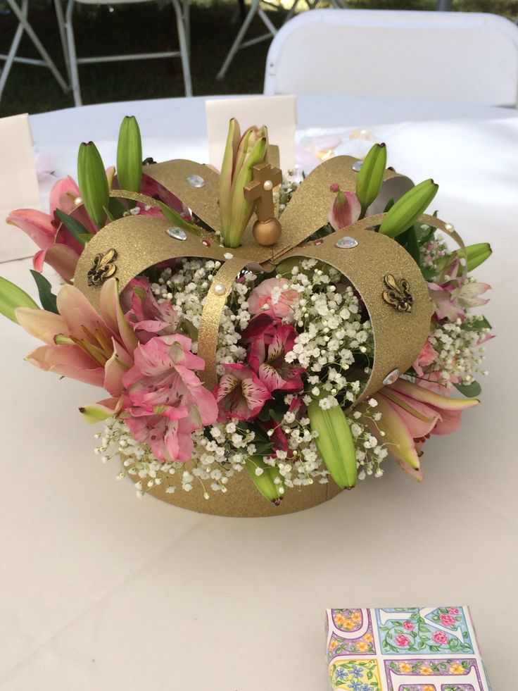 Best images about decorative crown centerpieces and